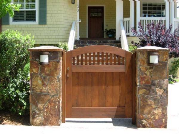 Servicios p rgolas valencia - Puertas de madera para jardin ...