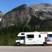 ruta en autocaravana por Canadá