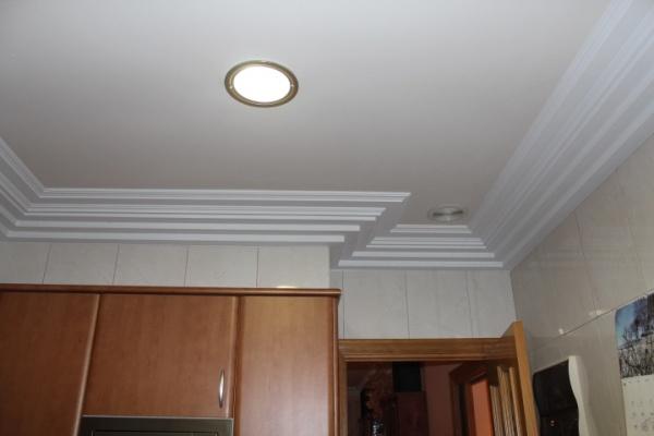 Moldura escayola techo obras oxigen falso techo paneles escayola esteticien oxigen falso techo - Colocar moldura escayola ...
